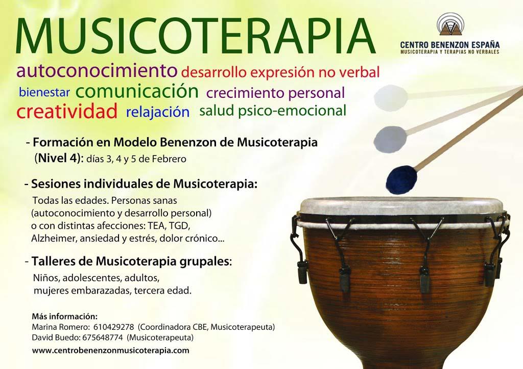Centro Benenzon España de Musicoterapia y Terapias No Verbales