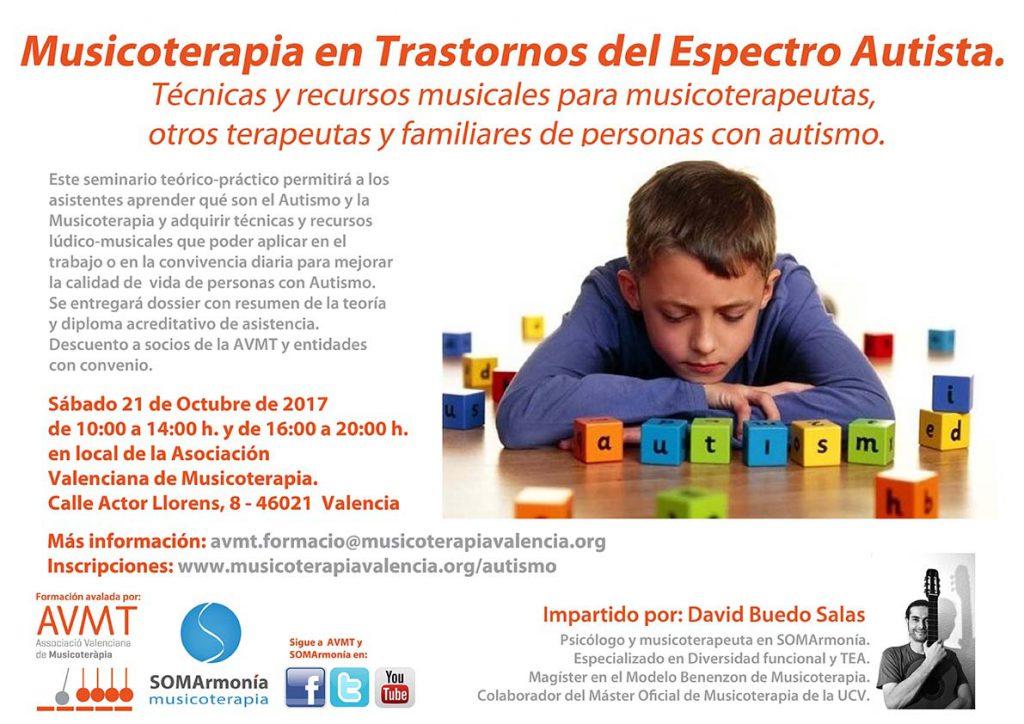 Formación: Musicoterapia en Trastornos del Espectro Autista