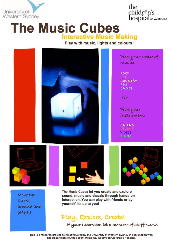 Tecnología Musical Interactiva como distracción para adolescentes en un ambiente hospitalario