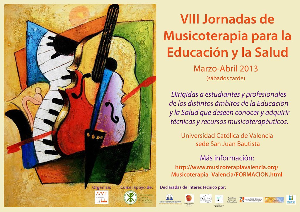 VIII Jornadas de Musicoterapia para la Educación y la Salud